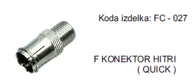 konektor FC-027